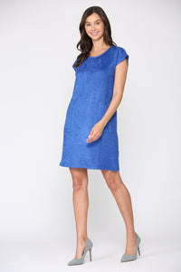 Ariel Dress - Cobalt