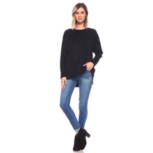Load image into Gallery viewer, Adi Suede Tunic - Black
