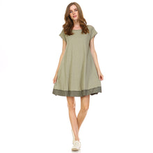 Load image into Gallery viewer, K3640 Kamille Tunic-Olive
