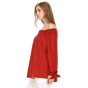 K8620 Kassandra Top Red Black