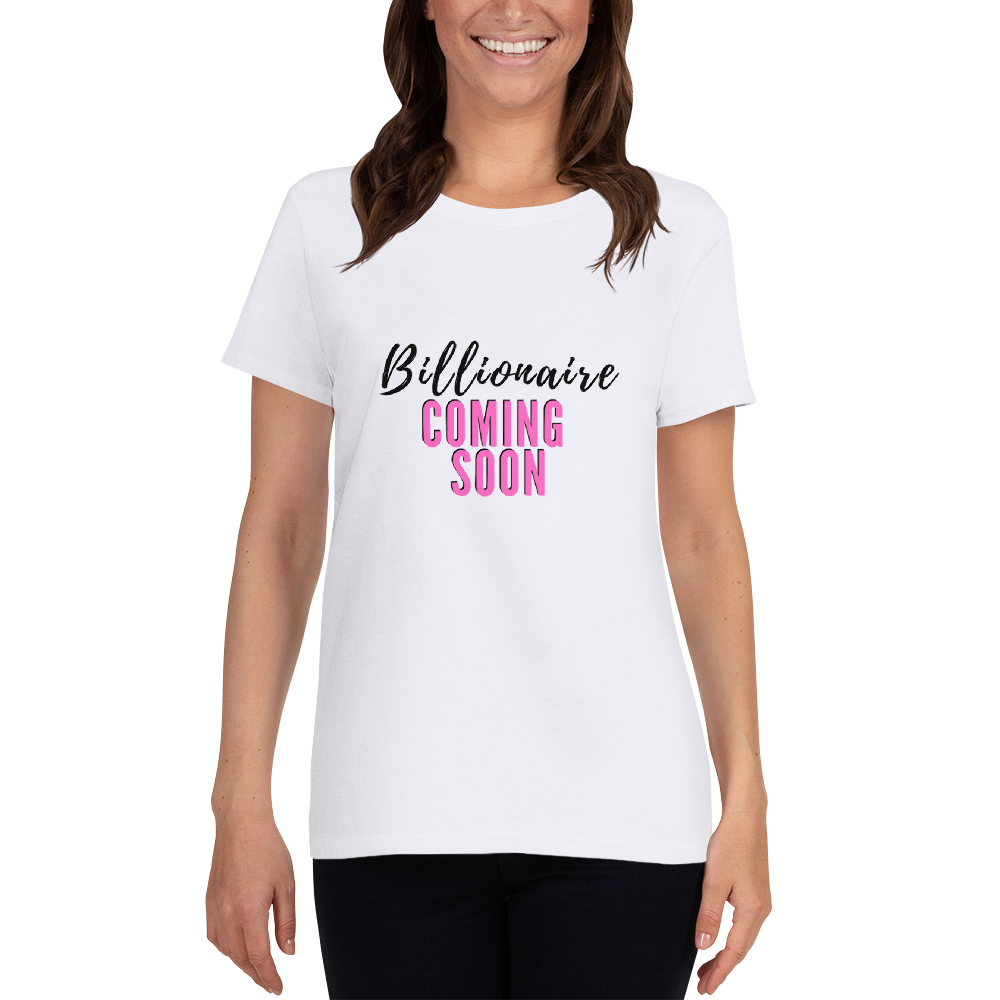 Pink Billionaire Tee - White Edition