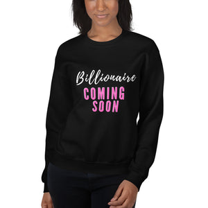 Pink Billionaire Sweater (Black)