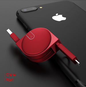 Retractable iPhone Charger