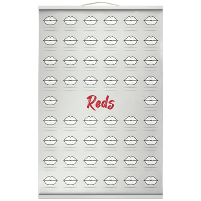 Hanging Canvas Prints kiss - Reds