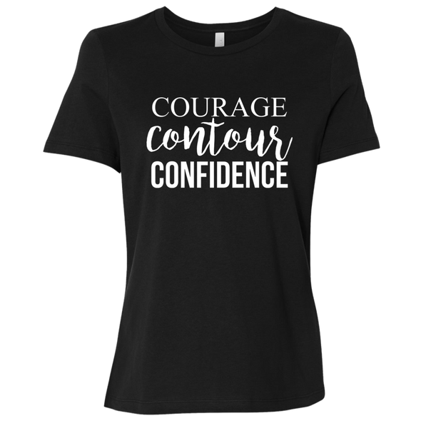 Courage Contour Confidence