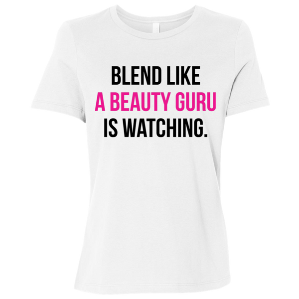 Blend like a Beauty Guru is Watching