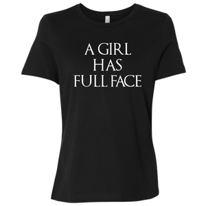 A Girl has a Face