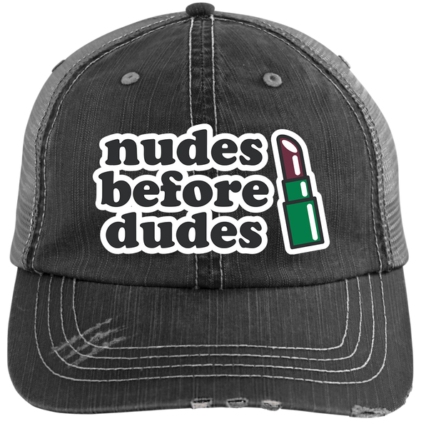 Nudes Before Dudes Trucker Cap