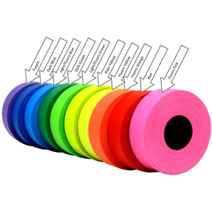 Hiviz PVC flagging tape ideal for flagging and sorting