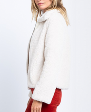 Load image into Gallery viewer, Cozy Teddy Faux Fur Zip-Up Jacket