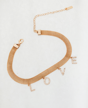 Load image into Gallery viewer, Gold Love Choker