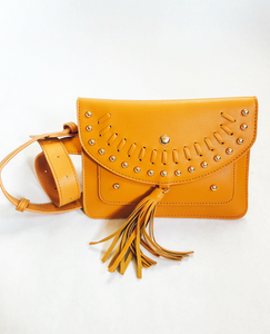 Camel Yellow Fanny Pack Purse