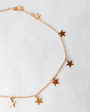 Load image into Gallery viewer, Starlight Gold Necklace