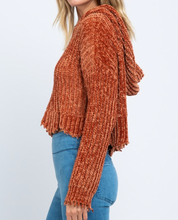 Load image into Gallery viewer, Tawny Knitted Hoodie Sweater