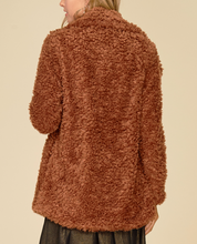 Load image into Gallery viewer, Warm Me Up Teddy Jacket