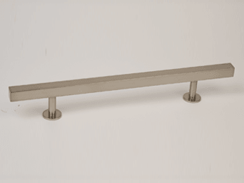 Brushed Nickel Bar Refrigerator Handle 14""