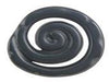 Scroll Collection Black 1.5 In Knob