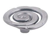 Scroll Collection Pewter 1.5 In Knob