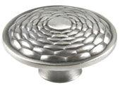 Mandalay Collection Brushed Nickel 1.3 In Round Knob