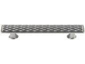 Mandalay Collection Brushed Nickel 4.15 In Pull