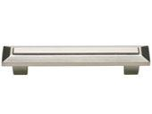 Trocadero Collection Brushed Nickel 4 In Pull