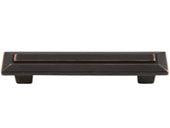 Trocadero Collection Venetian Bronze 4 In Pull