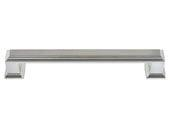 Sutton Place Collection Brushed Nickel 5.87 In Large Pull