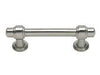 Bronte Collection Brushed Nickel 4.33 In Pull