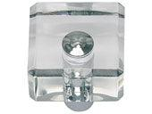 Optimism Collection Polished Chrome 1.25 In Square Knob