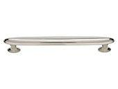 Austen Collection Polished Nickel 7.5 In Large Oval Pull