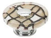 Glass Collection Chrome 1.5 In Viceroy Round Knob