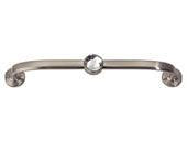 Legacy Crystal Collection Brushed Nickel 5.75 In Bracelet Pull