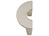 Roundabout Collection Brushed Nickel 1.75 In Knob