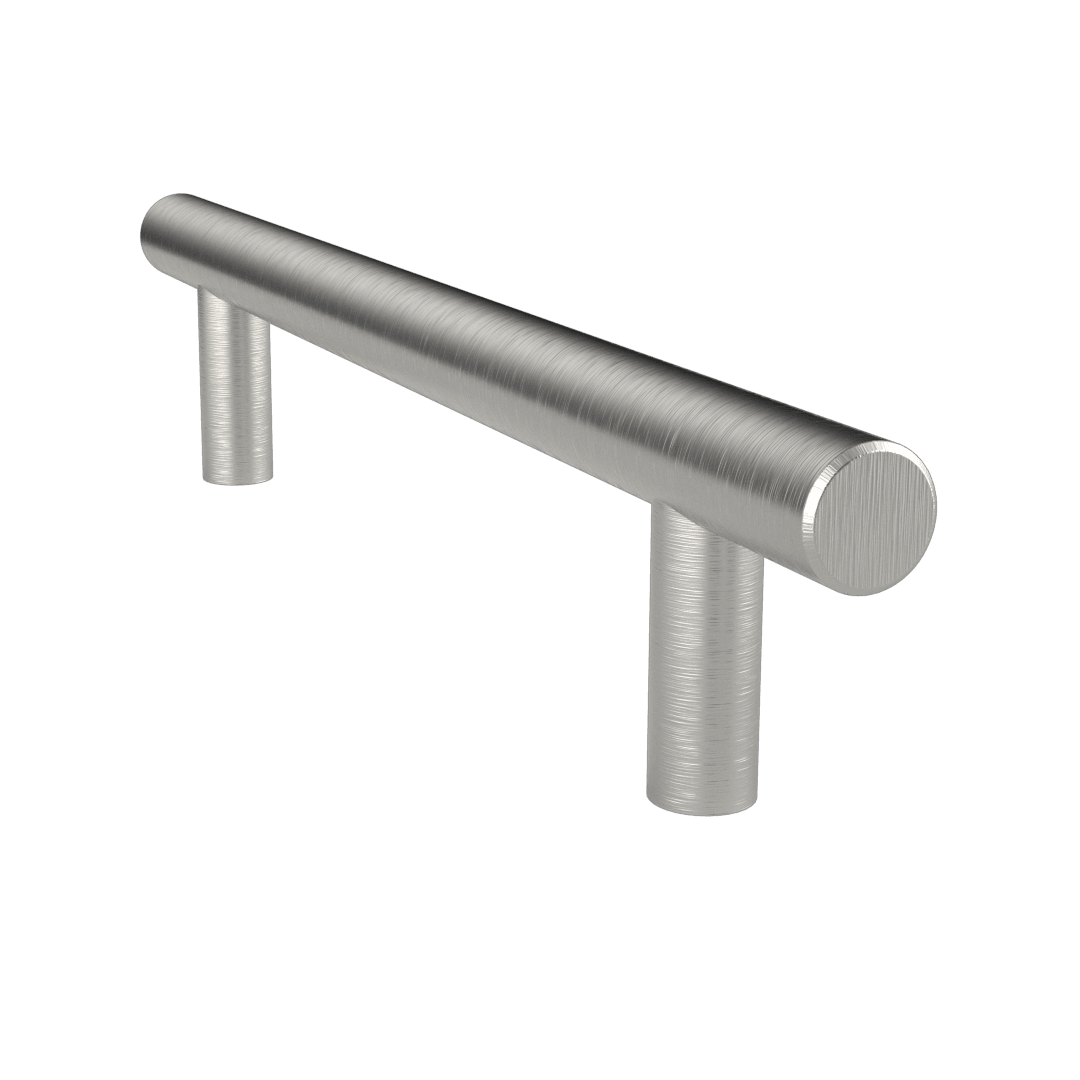 "5 3/4"" Bar Pull Brushed Satin Nickel - Pub Pull - Del Mar Hardware"