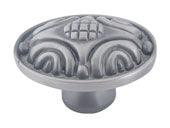Odeon Collection Pewter 1.75 In  Knob
