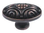Odeon Collection Venetian Bronze 1.75 In  Knob