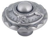 St. Michel Collection Pewter 1.5 In St Michel Knob