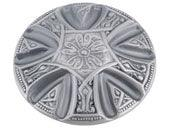 Maltese Collection Pewter 1.6 In Knob