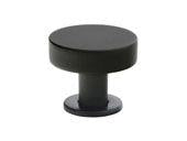 "Cadet Knob - 1"" (25mm) Flat Black"
