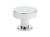 "Cadet Knob - 1"" (25mm) Polished Chrome"