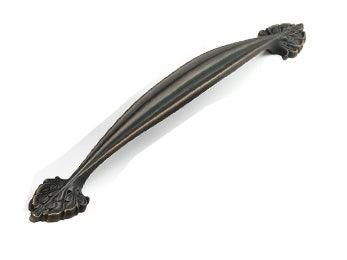 "Corinthian Appliance Pull  15"" cc - Ancient Bronze"