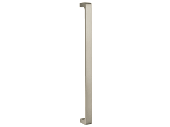 Omnia Ultima Wide Handle Appliance Pull Satin Nickel- Lacquered