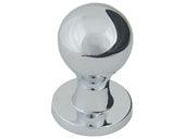 Successi Collection Polished Chrome 0.75 In Nipple Knob