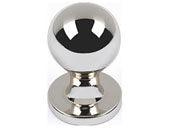 Successi Collection Polished Nickel 0.75 In Nipple Knob