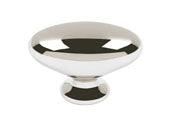 Successi Collection Polished Nickel 1.75 In Large Robins Egg Knob
