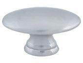 Successi Collection Brushed Nickel 1.5 In Sm Egg Knob