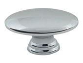 Successi Collection Polished Chrome 1.5 In Sm Egg Knob