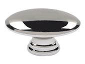 Successi Collection Polished Nickel 1.5 In Sm Egg Knob
