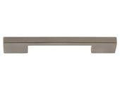 "Successi Collection Brushed Nickel 6.13"" Thin Square Long Pull"