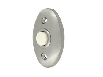 Standard Bell Button - Satin Nickel
